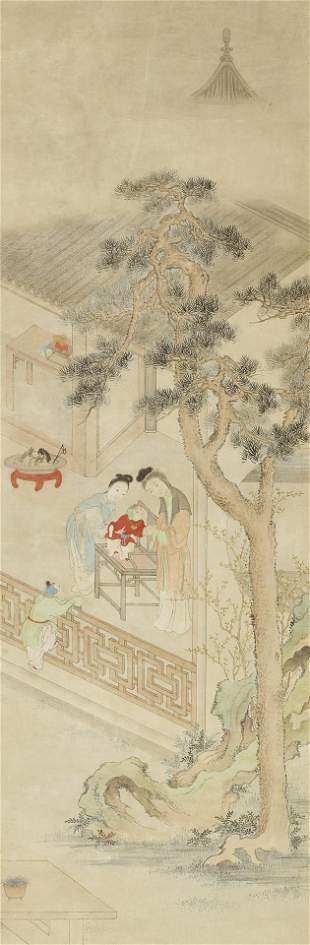 Anonymous (19th/20th century) A set of four paintings