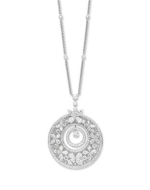 A DIAMOND 'BUTTERFLY' PENDANT NECKLACE, GRAFF