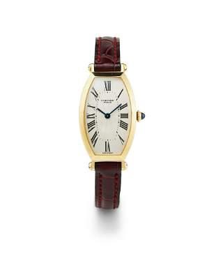 Cartier, Paris | Tonneau, A Lady's Yellow Gold