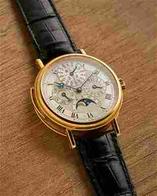 Breguet | Ref.3437, A Rare Yellow Gold Minute Repeating
