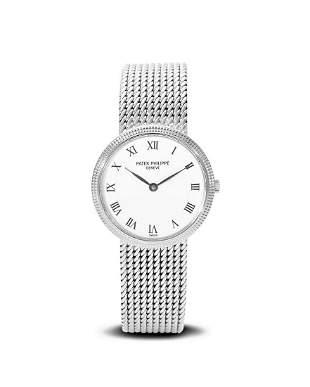 Patek Philippe | Calatrava Ref. 4819/5, A Lady's White