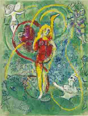 Marc Chagall (1887-1985) Le Cirque The complete