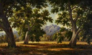 Henry Chapman Ford (1828-1894) A View through the Trees
