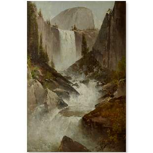 Thomas Hill (1829-1908) Vernal Falls with Half Dome 30
