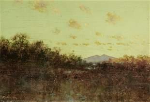 Charles Dormon Robinson (1847-1933) A View of Mt.