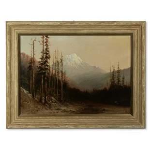 William Keith (1838-1911) Mountain Peak, Thought to be
