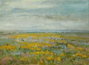 William Franklin Jackson (1850-1936) Poppy Field near