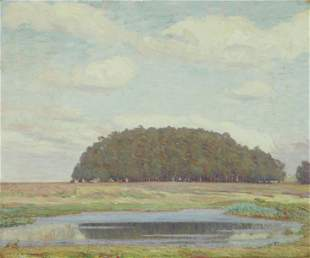 Clark Hobart (1868-1948) Spring Clouds, Contra Costa