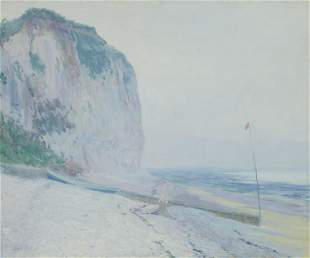 Guy Rose (1867-1925) Foggy Morning, Veules (Normandy
