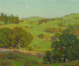 William Wendt (1865-1946) Spring Time 25 x 30in framed