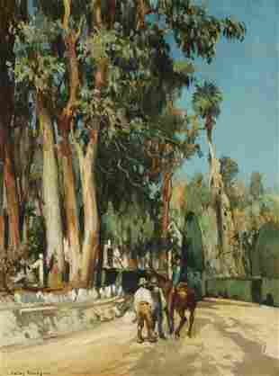Jules Eugene Pages (1867-1946) On the Baldwin Ranch 20