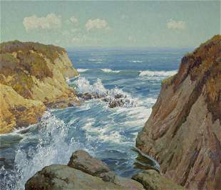 Maurice Braun (1877-1941) Point Loma 36 x 42 1/4in
