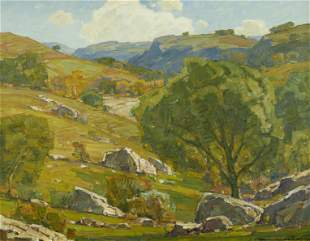 William Wendt (1865-1946) Far from the Madding Crowd 28