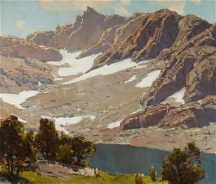 Edgar Payne (1883-1947) Peaks of Tioga 24 x 28in framed