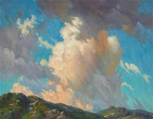 Paul Grimm (1891-1974) Celestial Architecture (Cumulus)