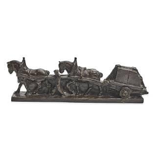 Mahonri MacKintosh Young (1877-1957) The Stone Cart 4