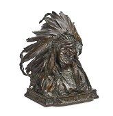 Adolph Alexander Weinman (1870-1952) Chief Black Bird,