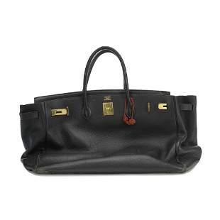 Jane Birkin's Black Togo Birkin 35, Hermès, c.