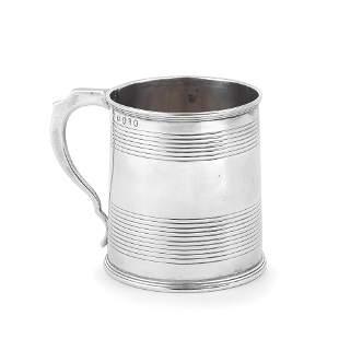A George III silver small mug