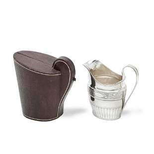 An Irish provincial silver milk jug