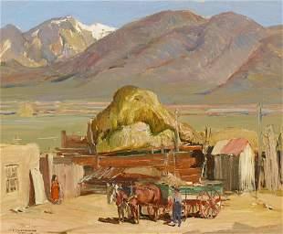 OSCAR EDMUND BERNINGHAUS (1874-1952)