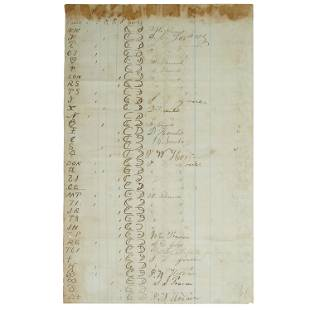 SIGNATURES OF JOHN WESLEY HARDIN AND MANNEN CLEMENTS,