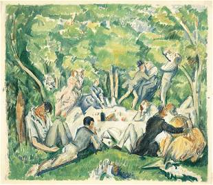 AFTER PAUL CÉZANNE (FRENCH, 1839-1906)
