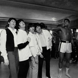 Harry Benson (born 1929); The Beatles and Cassius Clay;