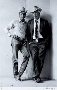 Terry O'Neill (born 1938); Paul Newman and Lee Marvin;