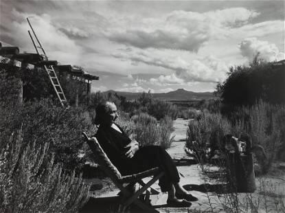 Arnold Newman (1918-2006); Georgia O'Keeffe, Ghost