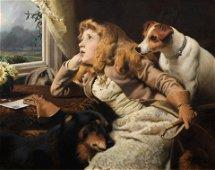 Charles Burton Barber, ROI (British, 1845-1894)