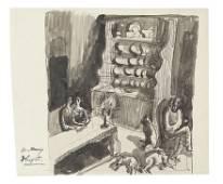 Dora Carrington (British, 1893-1932) Wuthering Heights,