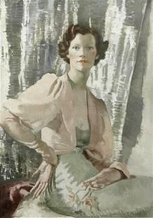 Doris Clare Zinkeisen (British, 1897-1991) Portrait of