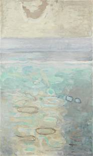 Mary Potter (British, 1900-1981) Pool 100.6 x 60.5 cm.