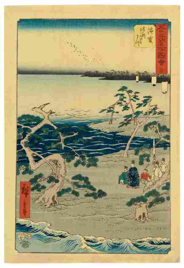 UTAGAWA HIROSHIGE I (1797-1858)