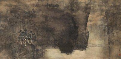 Li Huayi (born 1948)  Mountain Gorge