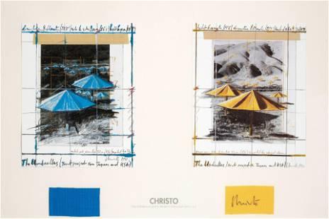 Christo & Jeanne-Claude (1935-2020; 1935-2009); The