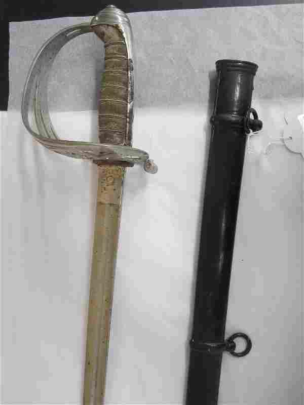 An Infantry Officer's Sword,