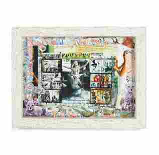 Peter Beard (1938-2020); Special Delivery Diary Page,