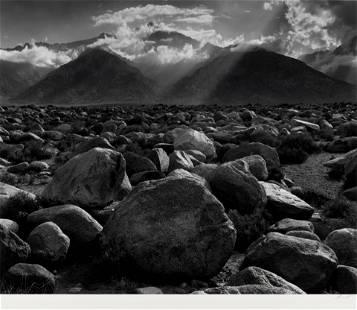 Ansel Adams (1902-1984); Mount Williamson from Mazanar,