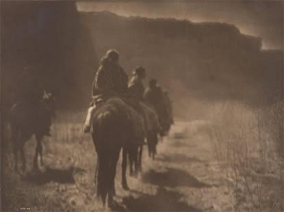 Edward S. Curtis (1868-1952); The Vanishing Race,