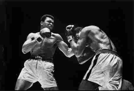 Walter Iooss (born 1943); Muhammad Ali vs. Ernie