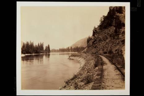 F. Jay Haynes, Along the Clark's Fork, Montana,