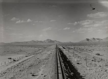 Dorothea Lange (1895-1965); Railway Tracks,