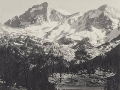 Ansel Adams (1902-1984); Rock Creek Canyon;