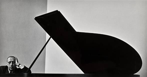 Arnold Newman (1918-2006); Igor Stravinsky;