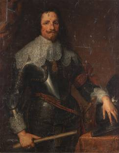 After Sir Anthony van Dyck, 19th Century Portrait of