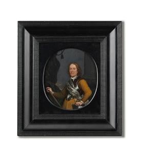 Dutch School, 17th Century Portrait of a gentleman,