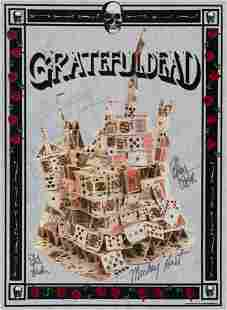 The Grateful Dead: Signed Tour Poster