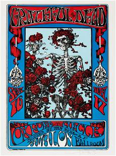 Grateful Dead: Limited Edition Lithograph Of FD-26